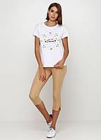 Лосины, Капри, Бриджи из эластичной ткани с карманами сзади (песочный), фото 1