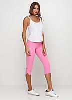 Лосины, Капри, Бриджи из эластичной ткани с карманами сзади (розовый), фото 1