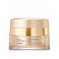 Крем с улиткой антивозрастной против морщин The Saem Snail Essential Ex Wrinkle Solution Cream 60 мл
