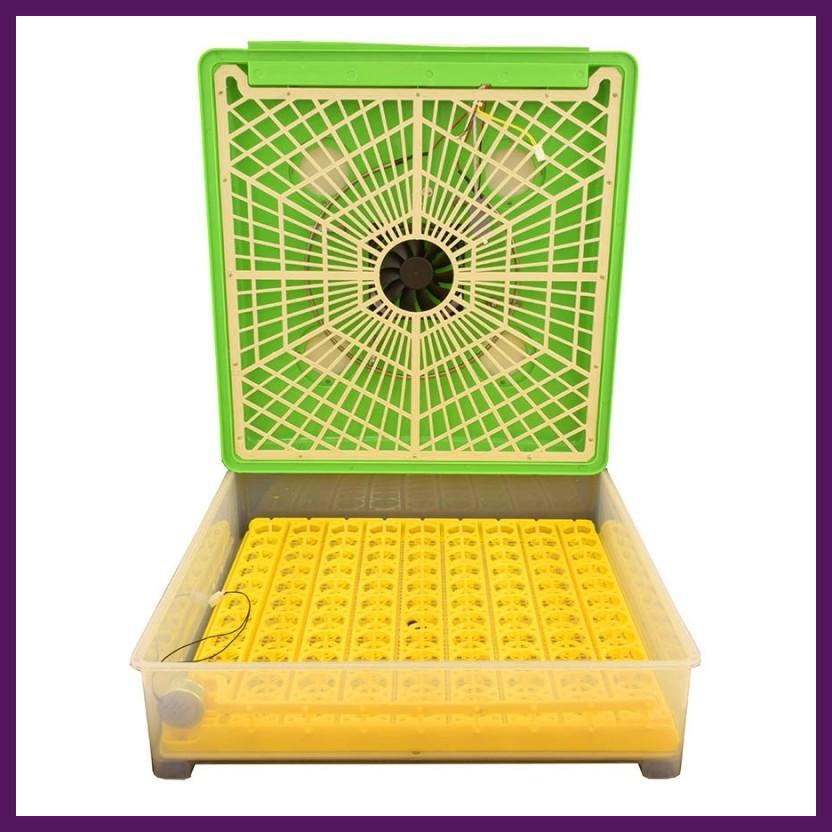 Пластиковый инкубатор с автоматическим поворотом на 98 яиц