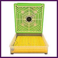 Пластиковый инкубатор с автоматическим поворотом на 98 яиц, фото 1