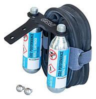 Держатель PRO СО2, запасной камеры на седло для триатлона