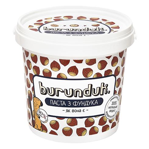 Фундукова паста (масло) Burunduk 1кг Украина