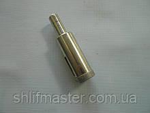 Сверло алмазное трубчатое по стеклу (Полтава) D 16 мм