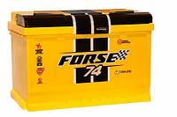 Аккумулятор Forse Original 74Ah 720A (правый+)