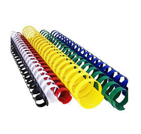 Пружины для переплёта пластиковые