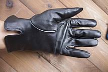 Мужские кожаные перчатки 937, фото 2