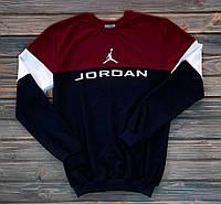 Мужской спортивный свитшот, чоловічій світшот, топовый свитшот, толстовка Jordan, Реплика