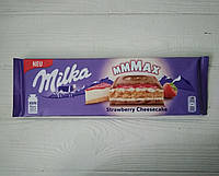Молочный шоколад Milka Strawberry Cheesecake 300g (Швейцария)