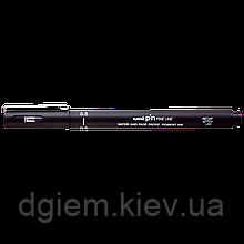 Лайнер PiN fine line 0.5мм, черный UNI