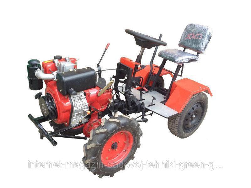 Адаптер Ярило (с колесами, без кардана) для мотоблока Мотор Сич и МТЗ