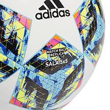 Мяч футзальный Adidas Finale Sala 5x5 DY2548 №4 Белый (4061624845510), фото 2