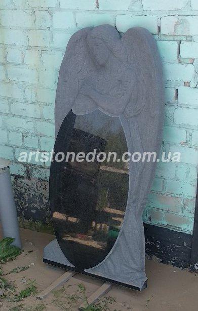 Памятник элитный Ангел скорбящий №741  10
