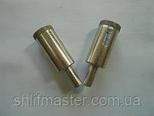 Сверло алмазное трубчатое по стеклу (Полтава) D 22 мм