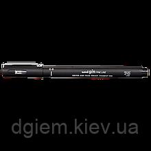 Лайнер PiN fine line 0.6мм, черный UNI