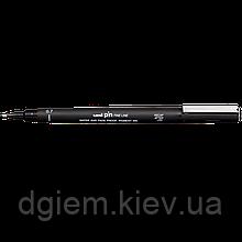 Лайнер PiN fine line 0.7мм, черный UNI