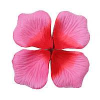 Лепестки роз искусственные 100 шт. розовые/декор