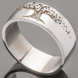 Серебряное кольцо Древо жизни арт. 383к