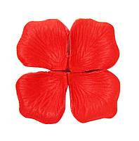 Лепестки роз искусственные 100 шт. красные/декор