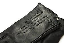 Женские кожаные сенсорные перчатки 1-948, фото 3