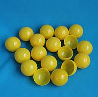 Шары для лототрона 40 мм желтый