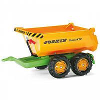 Прицеп двухосный для трактора Halfpipe Joskin Rolly Toys 122264
