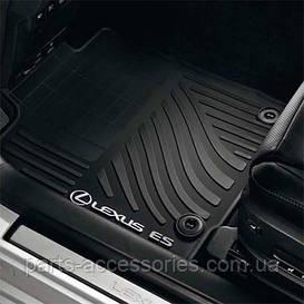 Комплект резиновых ковриков для Lexus ES 2012-2016 новые оригинал