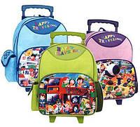 Рюкзак школьный на колесиках TIGER Family Happy Traveling (4 вида)