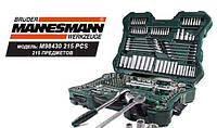 Профессиональный набор инструментов MANNESMANN 215, фото 1