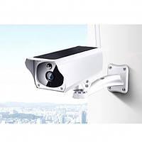 Камера видеонаблюдения с солнечной панелью, автономная IP CAMERA CAD F20 2mp solar, белая, фото 1