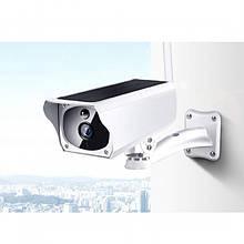 Камера видеонаблюдения с солнечной панелью, автономная IP CAMERA CAD F20 2mp solar, белая