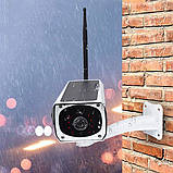 Камера видеонаблюдения с солнечной панелью, автономная IP CAMERA CAD F20 2mp solar, белая, фото 5