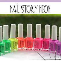 Лаки для стемпинга Nail Story NEON