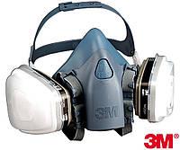 Полумаска респиратор защитная 3M-MAS-7500
