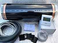 """3,5м2. Инфракрасный теплый пол  """"RexVa"""" (Корея), комплект с программируемым терморегулятором Menred Е51"""