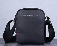 Мужская брендовая сумка плечо Tommy Hifiger (409)