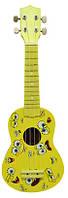 Укулеле Rose UK100-21 Спанч Боб, жёлтый принт