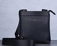 Мужская брендовая сумка плечо Tommy Hifiger (669)