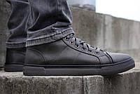 Кеды мужские - кроссовки высокие демисезонные серого цвета (917чз-2)