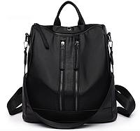 Рюкзак женский Gou сумка трансформер Черный