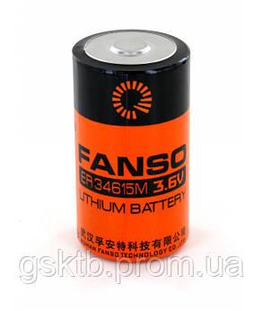 Литиевая батарея ER34615M 3,6В 14000 мАч, D Size, Li-SOCl2, фото 2