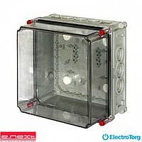 Коробка монтажная пластиковя Z3 W 1-3-3-4 IP55  (250*250*186) (e-next)