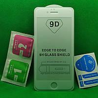IPhone 6, 6s Full Glue Защитное стекло Белое