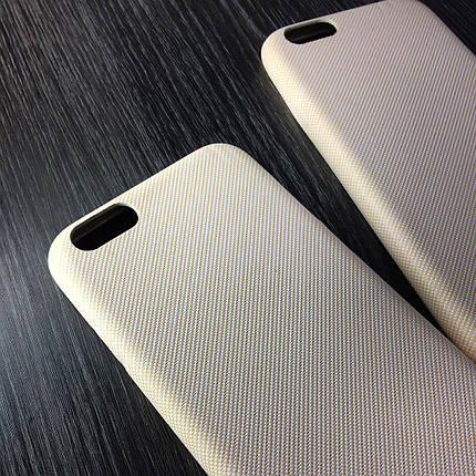 Чехол для iPhone 7 Plus / 8 Plus Бежевый под ткань, фото 2