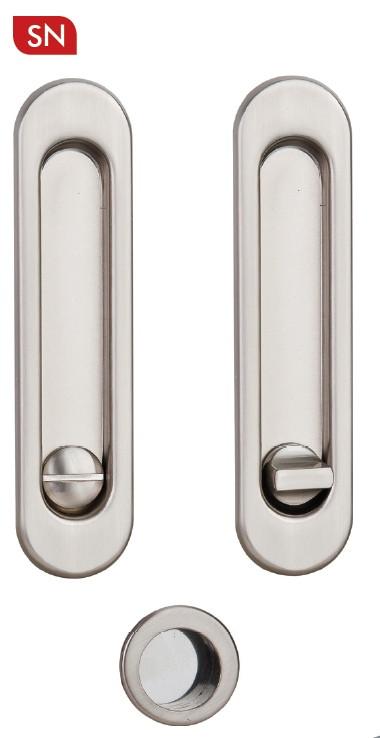 Ручки для раздвижных дверей с механизмом WC SIBA S223, цвет - матовый никель