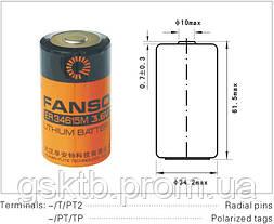 Литиевая батарея ER34615M 3,6В 14000 мАч, D Size, Li-SOCl2, фото 3