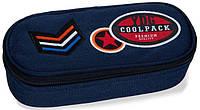 Школьный пенал Coolpack Campus B62053 темно-синий