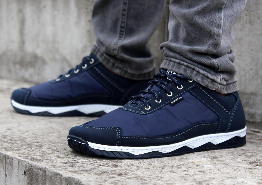 Кросівки чоловічі демісезонні кроссовки сині (Кф-16с-2)