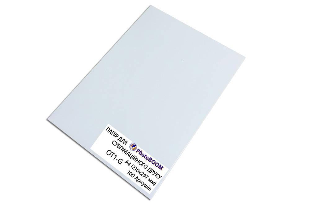 Матовая фотобумага PhotoBOOM для сублимационной печати, А4, 100 г/м2, 100 листов