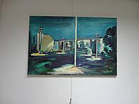 """Картина, """"Ночное кафе"""", фото 1"""